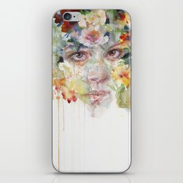 quiet zone iPhone Skin