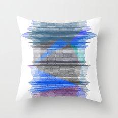PIPELINE RESONANCE Throw Pillow