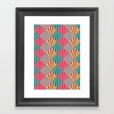 GeoShell Framed Art Print
