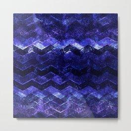 Glitter Waves III Metal Print