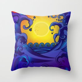 bd1a1b5f7 Tibetan Design - Tattoo Art - Sunrise Throw Pillow