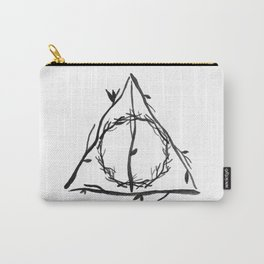 The Deathly Hallows Carry-All Pouch