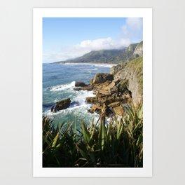 West Coast - South Island, New Zealand Art Print