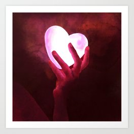 Love_Heart Art Print