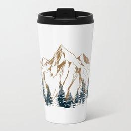 mountain # 4 Metal Travel Mug