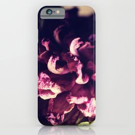 dry purple flower - 3rd iPhone Case