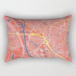 Utrecht, Netherlands street map Rectangular Pillow