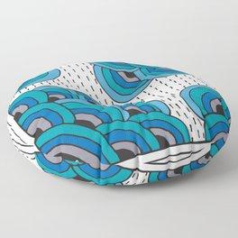 Portland Sky Floor Pillow