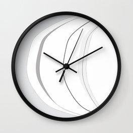 Light and Shadow 3 Wall Clock