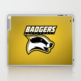 Badgers Hufflepuff  Laptop & iPad Skin