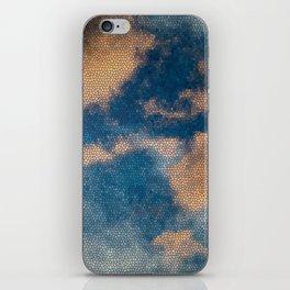 cloud-mosaic iPhone Skin