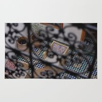 morocco Area & Throw Rugs featuring Morocco #1 by lularound