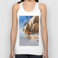 frozen Tank Tops featuring Frozen by Jonah Anderson