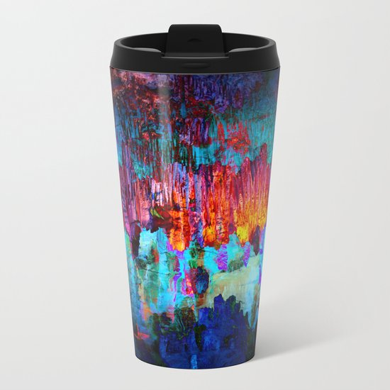 Everything is nothing (therefore it was beautiful) Metal Travel Mug