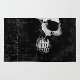 Portrait of a skull Rug