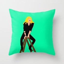 Cool Rider Stephanie Throw Pillow