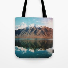 Film photo of New Zealand Glacier Landscape Tote Bag