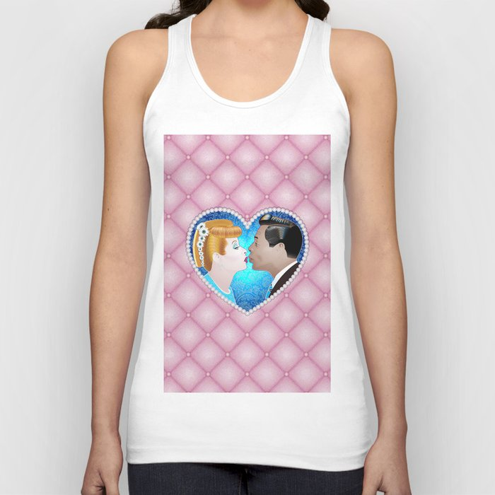 Ricky Loves Lucy Unisex Tank Top