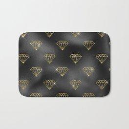 Black Gold Elegant 10 Bath Mat