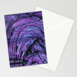 Splashing Water at the End of the River Stationery Cards