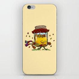Fall Jam iPhone Skin