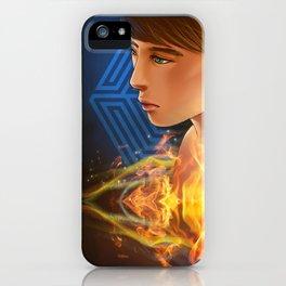 EXO D.O flame iPhone Case