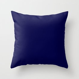 Mid Night Throw Pillow