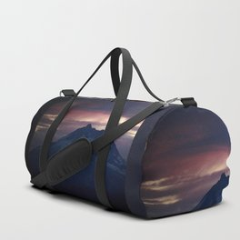 Jefferson at Sunset Duffle Bag