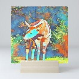 Animal ArtStudio 419 Okapi Mini Art Print