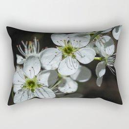 Blackthorn Blossom Rectangular Pillow