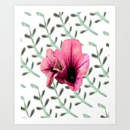 Uno Flower Art Print