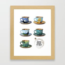 TeaVanGogh - Collection Framed Art Print