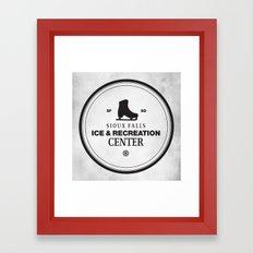Sioux Falls Ice & Recreation Center Framed Art Print