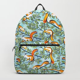 Oak Tree with Squirrels in Summer Backpack