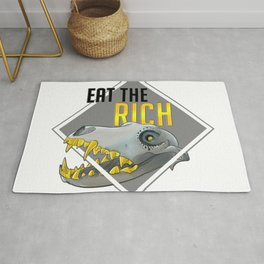 Eat The Rich Rug