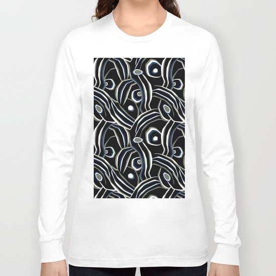 Abstract African pattern. Long Sleeve T-shirt