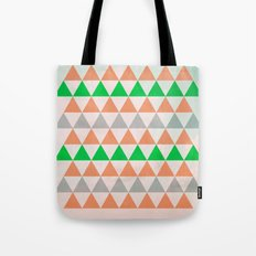 Fly in Pink / Colored Triangles Tote Bag
