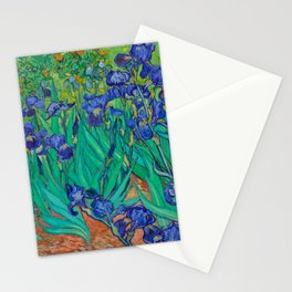 IRISES - VAN GOGH Stationery Cards
