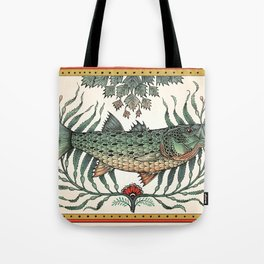 Striper in the Weeds Tote Bag