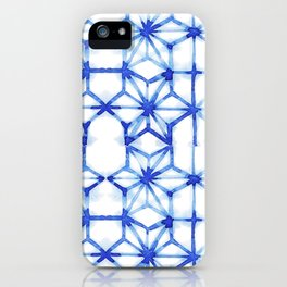 Abstract geometric star iPhone Case