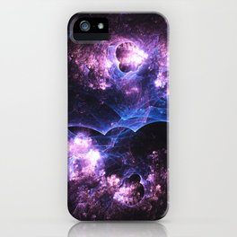 Grunged Space iPhone Case