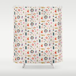 Holiday Pop Shower Curtain