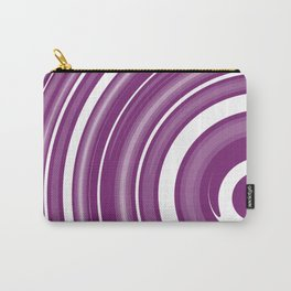 lollipop in white and purple Carry-All Pouch