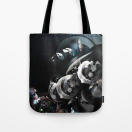 In the voiceless Night Tote Bag