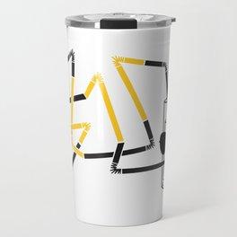 glass Travel Mug