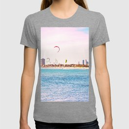 Windsurfing at St Kilda T-shirt