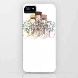 In Formation iPhone Case