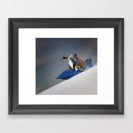 The only way to travel Framed Art Print