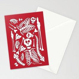 Skeletal Love Stationery Cards