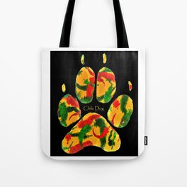 Chile Dog Print Tote Bag
